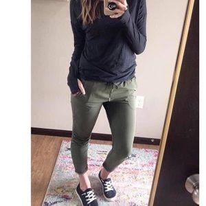 Zyia Active Pants Olive Everywhere Poshmark